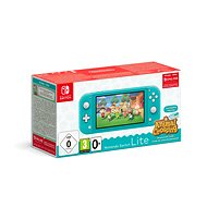 Nintendo Switch Lite - Turquoise + Animal Crossing + 3M NSO - Game Console