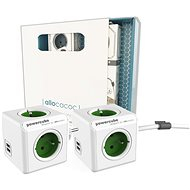 Allocacoc PowerCube Original USB + Extended USB Gift Set - Socket