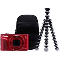 Canon PowerShot SX720 HS Red Travel Kit - Digital Camera