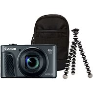 Canon PowerShot SX730 HS Black Travel Kit - Digital Camera
