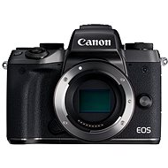 Canon EOS M5 body black + adapter EF-EOS M + Canon SELPHY CP1200 black + papers RP-54 - Digital Camera