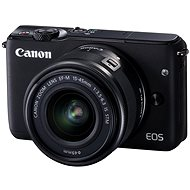 Canon EOS M10 Black + EF-M 15-45mm F3.5-6.3 IS STM - Digital Camera