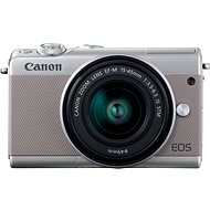 Canon EOS M100 Grey + M15-45mm Silver - Digital Camera