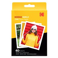 "Kodak Zink 3x4"" Pack of 40pcs - Photo Paper"