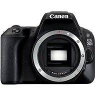 Canon EOS 200D - Black - DSLR Camera