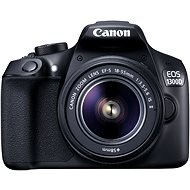Canon EOS 1300D + EF-S 18-55mm IS II - DSLR Camera