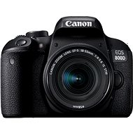 Canon EOS 800D Black + 18-55mm IS STM - DSLR Camera