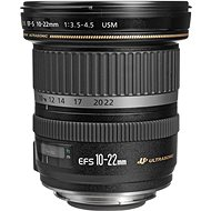 Canon EF-S 10-22mm F3.5 - 4.5 USM Zoom black - Lens