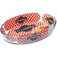 Ocuisine Oval Glass Baking Tray 35 x 24 x 6cm, 3l - Roasting Pan
