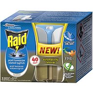 RAID Electric Vaporizer with Advanced 1+33ml liquid refill - Insect Repellent