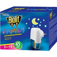 BIOLIT Family electric vaporiser with liquid charge 45 nights 1 + 27ml - Insect Repellent