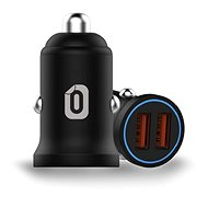 Odzu Car Charger Mini 2x Quick Charge 3.0 Black - Car Charger