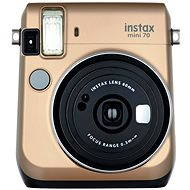 Fujifilm Instax Mini 70 Stardust Gold - Digital Camera