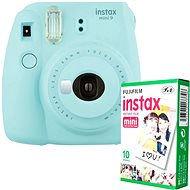 Fujifilm Instax Mini 9 Light Blue + 10x Photo Paper