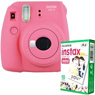 Fujifilm Instax Mini 9 Pink + 10x Photo Paper