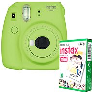 Fujifilm Instax Mini 9 Lime + 10x Photo Paper