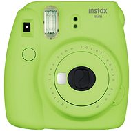 Fujifilm Instax Mini 9 Lime + Film 1x10 + Camera Case - Digital Camera
