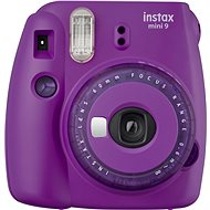 Fujifilm Instax Mini 9, Purple - Instant Camera
