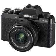 Fujifilm X-T100 black + XC 15-45mm f / 3.5-5.6 OIS PZ - Digital Camera