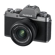 Fujifilm X-T100 silver + XC 15-45mm f / 3.5-5.6 OIS PZ - Digital Camera