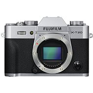 Fujifilm X T20 Body Silver - Digital Camera