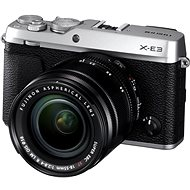 Fujifilm X-E3 Silver + XF 18 - 55mm - Digital Camera