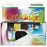 Fujifilm QuickSnap Rainbow 400/27 - Single-Use Camera