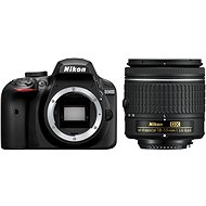Nikon D3400 Black + 18-55mm AF-P - DSLR Camera