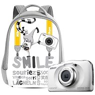 Nikon COOLPIX W100 white backpack kit - Children's Camera