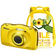 Nikon COOLPIX W100 Yellow Backpack Kit - Children's Camera