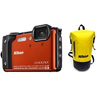 Nikon COOLPIX W300 Orange Holiday Kit - Digital Camera