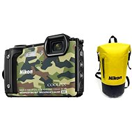 Nikon COOLPIX W300 Camouflage Holiday Kit - Digital Camera
