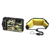 Nikon COOLPIX W300 camouflage + 2-in-1 Floating Strap - Digital Camera