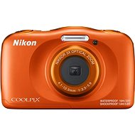 Nikon COOLPIX W150 Orange Backpack Kit - Children's Camera