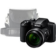 Nikon COOLPIX B600 Black + Case - Digital Camera