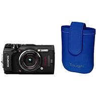 Olympus TOUGH TG-5 Black + Tough Neoprene Case - Digital Camera