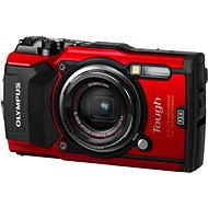 Olympus TOUGH TG-5 Red + Power Kit - Digital Camera