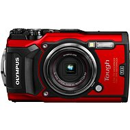 Olympus TOUGH TG-5 red + Maxi Kit - Digital Camera