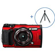 Olympus TOUGH TG-6 + POWER KIT, Red - Digital Camera