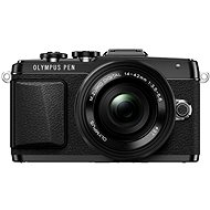 Olympus PEN E-PL7 black + 14-42mm Pancake lens Zoom - Digital Camera