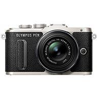 Olympus PEN E-PL8 black + ED 14-42 II R Black Lens - Digital Camera