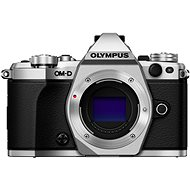 Olympus E-M5 Mark II BODY + 14-42mm lens EZ Silver/Black - Digital Camera