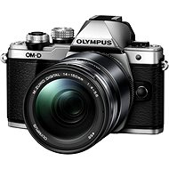 Olympus E-M10 Mark II silver/black + ED 14-150 II - Digital Camera