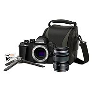 Olympus E-M10 Mark II black + M. ZUIKO DIGITAL ED 12-50 mm f / 3.5-6.3 EZ + Lens memory kit - Digital Camera