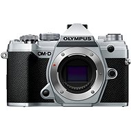 Olympus OM-D E-M5 Mark III, Silver Body - Digital Camera