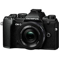 Olympus OM-D E-M5 Mark III + 14-42mm EZ, Black - Digital Camera