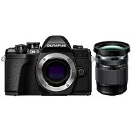 Olympus E-M10 Mark III, Black + 12-200mm Lens, Black - Digital Camera
