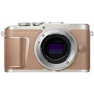 Olympus PEN E-PL10 Body, Brown - Digital Camera