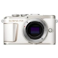 Olympus PEN E-PL10 Body, White - Digital Camera