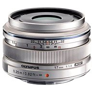 M.ZUIKO DIGITAL ED 17mm silver f/1.8 - Lens